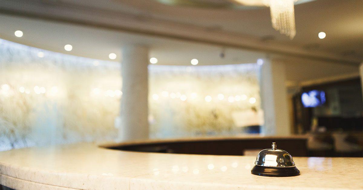 פעמון על דלפק של בית מלון - אילוסטרציה